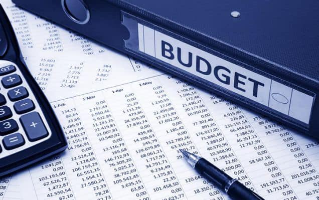 Report of the budget meeting
